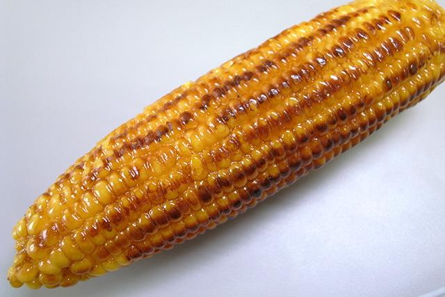 焼きトウモロコシのサンプル
