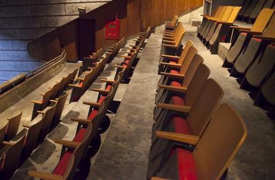 劇場内にあるものはオープン当初から使われているものが多いとか