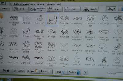 プリセットのパターンで縫えるのはもちろん、