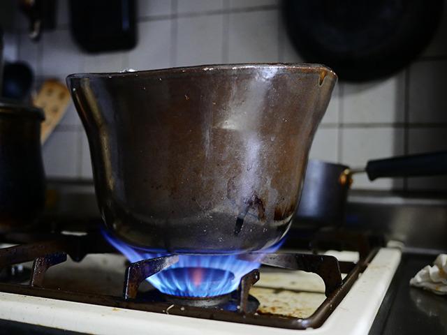 対して、夏の土鍋炊飯がこちらだ