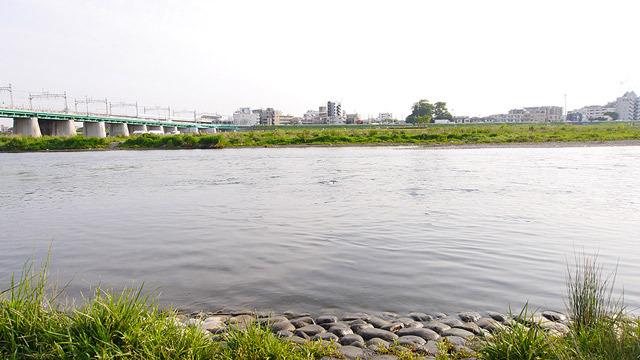 もちろん川でも、