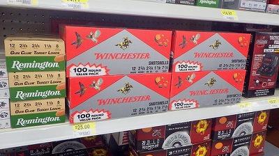 話には聞いていたが、本当に銃やその弾丸がごく普通に売られている。特に今回訪問したオクラホマやテキサスは狩猟が盛んなので品揃えも豊富だったようだ。
