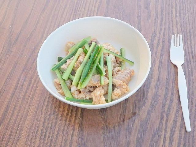 日本から調味料を持ち込み、材料はアメリカで確保。でもできたのは棒棒鶏!鶏肉使ってないけど!