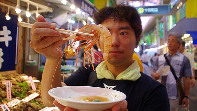個人的視点による近江町市場の魅力をご紹介します。