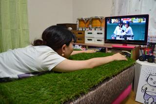 高校野球にも、がぜん集中できます。