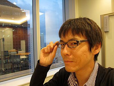 毎日かけてる、愛用のメガネ