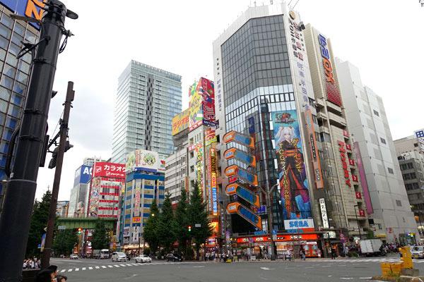都心も都心。JR秋葉原駅から徒歩3分くらいの場所