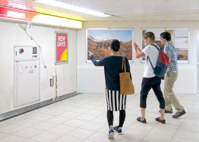 東京駅。みんなが「これはすてき!」と盛りあがった優秀作。