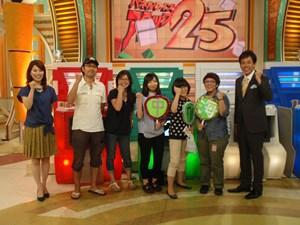 浦川アナはもちろん、出題の角野アナがテレビで見るより可愛くてファンになりました!