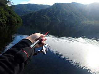 タキタロウの子供なら釣れてしまうような気もする。可能性がゼロじゃないって素晴らしい。