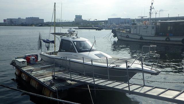 大阪湾でシュモクザメ釣りのサービスを提供してくれる唯一の釣り船「SeaRide」。