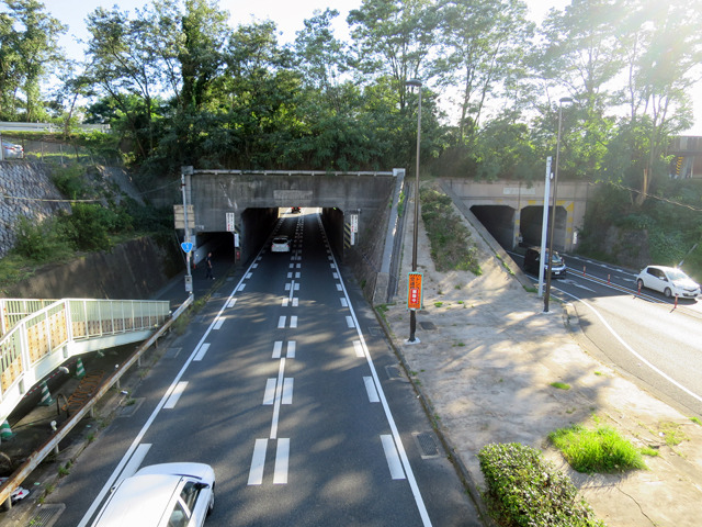 もうすぐ姿を消してしまうトンネル