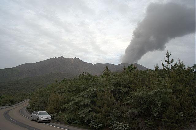 桜島はカジュアルに噴火していて凄かった。