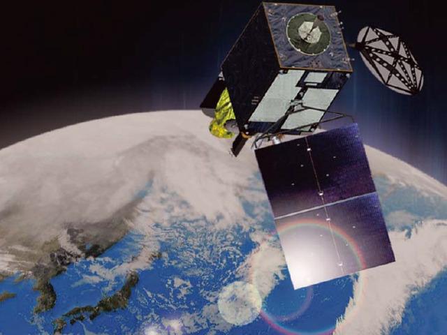 10月に打ち上げられる予定のひまわり8号のイメージ。気象庁HPより