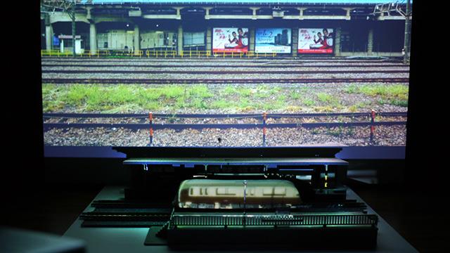 簡単操作で京急線にも早変わりだ。