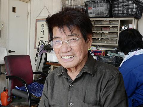自転車屋B&Cまえだの前田正文さん。いただきさんの横付けを生んだ人