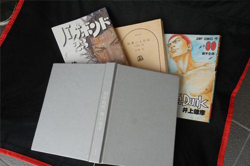 マンガに混じって坂口恭平『幻年時代』、『絢爛たる影絵』高橋治などの渋い本も