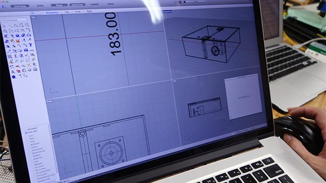 筐体の設計