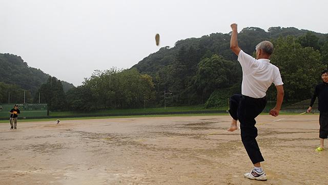 カリスマ川口さんの見事な試技。