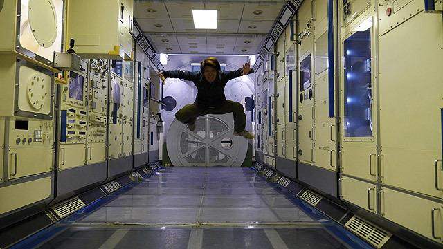 これが宇宙ステーションです
