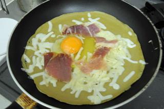 卵とチーズと