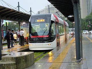 富山県にはほかにも路面電車が走っているので全部乗ってみたい
