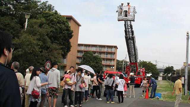 一番人気だったのがコレ。消防車のはしご車だ