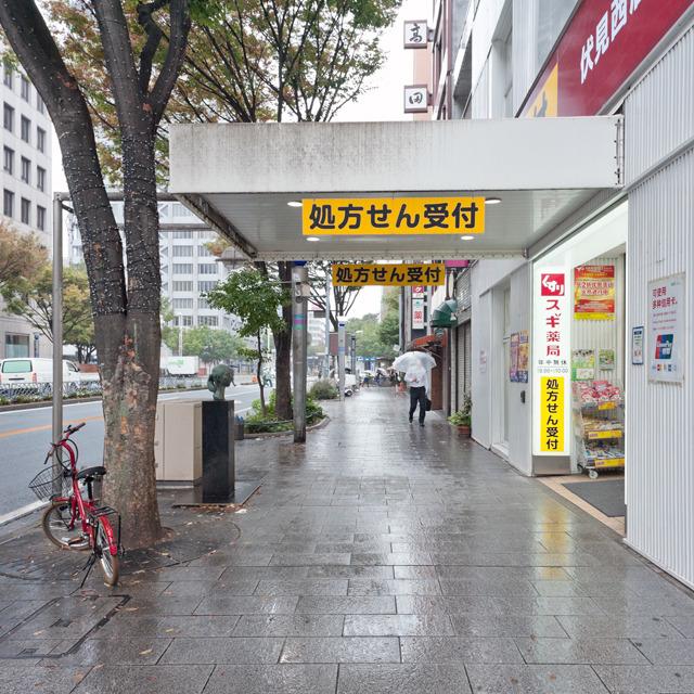 なのでこれは名古屋根に認定。ただ、なんか車道側に像があってアプローチ感が弱いのであまりぐっとこない。