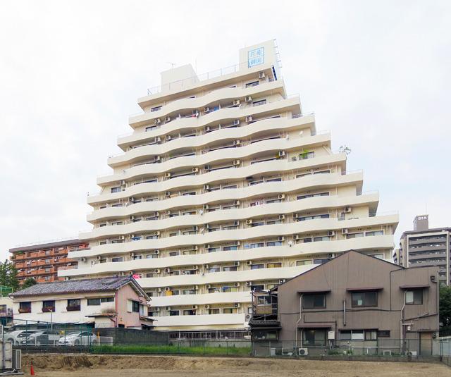 あとこのマンションの形すごい!って思った。