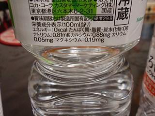 水は当然0kcal。