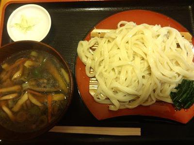野菜汁うどん680円。