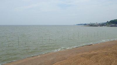 有明海は一年中鉛色の濁った海。でも海の幸は豊富。そして独特。