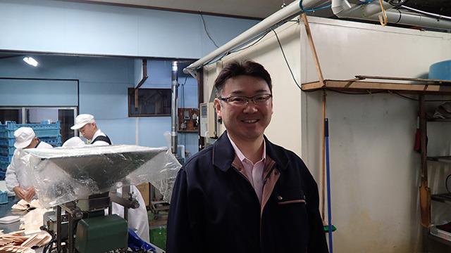 日本一高級な納豆を販売している「有限会社ふく屋」の代表取締役 古屋さん。