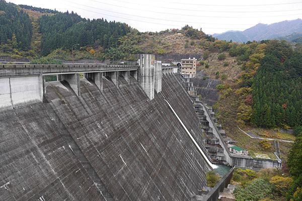 それが「道平川ダム」