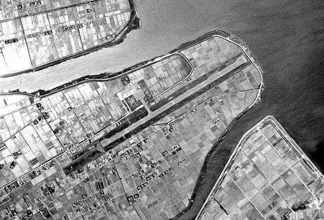 1967年の様子(国土地理院「地図・空中写真閲覧サービス」より・MCG673X/コース番号・C6/写真番号・16/撮影年月日・1967/05 20(昭42))
