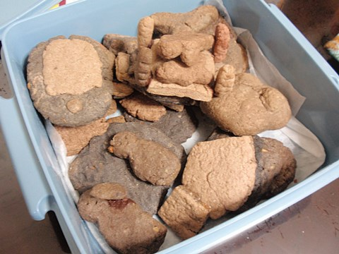 そして大量のクッキーが残った。
