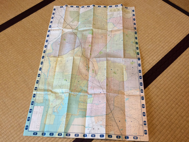 名古屋市の西部を中心とした地図