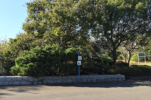 葛西臨海公園パークトレインの停留所。ここもポータルなんですよ。
