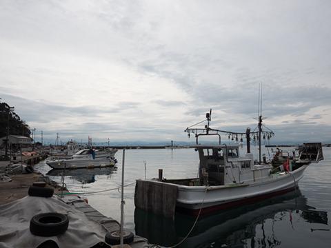 漁港のある美保関。観光するにはとてもいい町