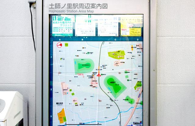駅にある地図ももっぱら古墳だし。