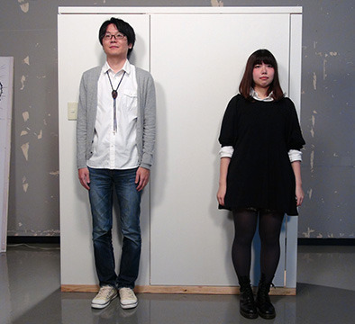 そして壁ドンのモデルは編集部藤原とインターン獅子倉さん。