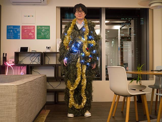 おお、ちょっとクリスマスツリーっぽい