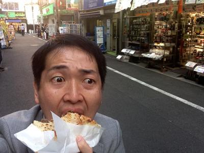 ちゃんと元通りにして食べました。むう、うまい。