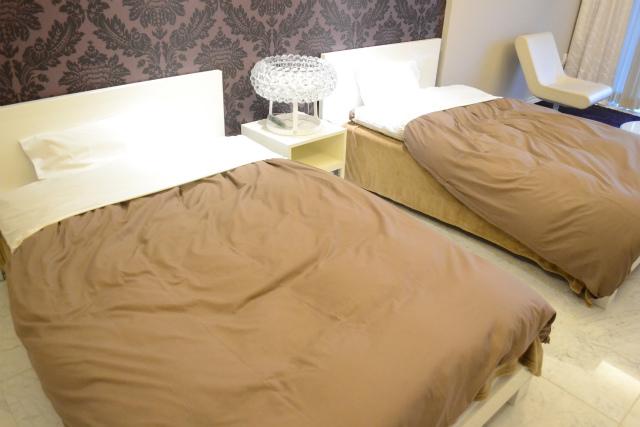 けっこうでかいベッドが二つ