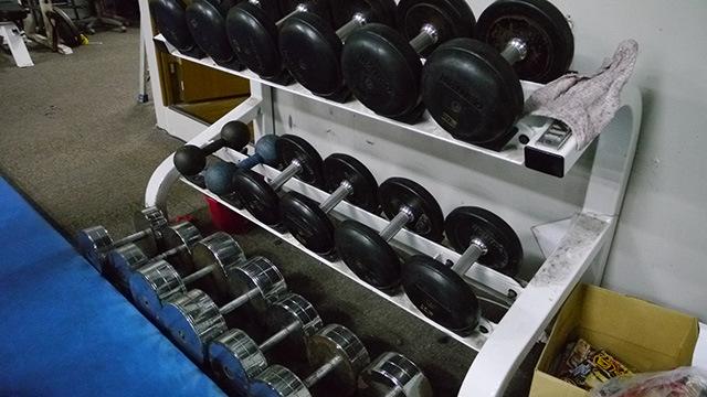 道具見ただけで筋肉痛になりそう。