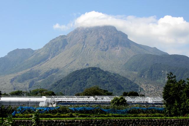 島原を象徴する雲仙普賢岳