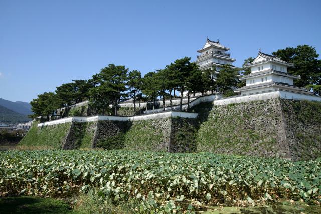 江戸時代の前期に築かれた、石高と比べて立派すぎる島原城