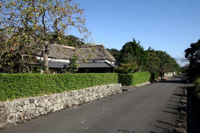 島原半島北側の神代町には神代鍋島家(佐賀藩)の武家町も残る