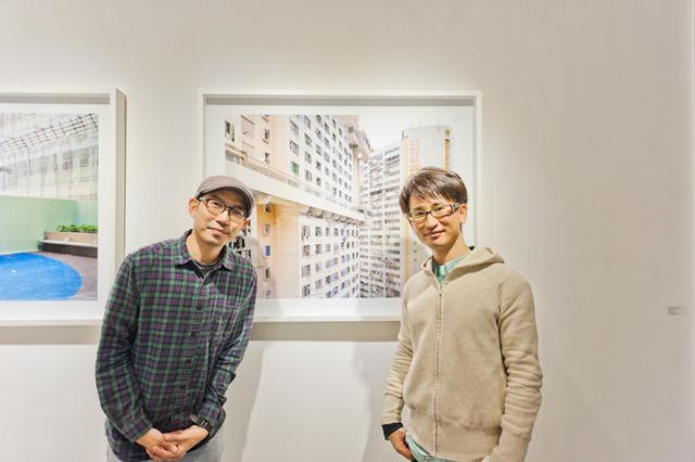 尊敬する香港の写真家。すごーーーくナイスガイの Dustin Shum さん。ぼくは生まれ変わったら彼になりたい。この記念写真は一生の思い出だ。