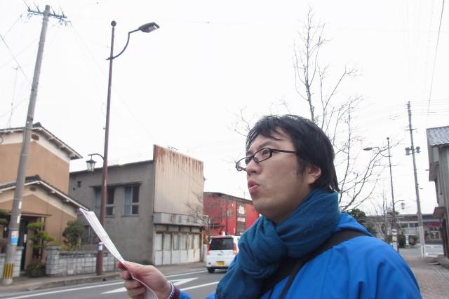 柳ヶ浦駅からあるいて5分ほど